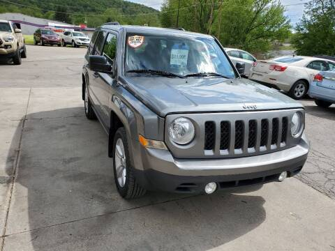 2014 Jeep Patriot for sale at A - K Motors Inc. in Vandergrift PA