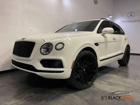 2018 Bentley Bentayga for sale at BLACK LABEL AUTO FIRM in Riverside CA