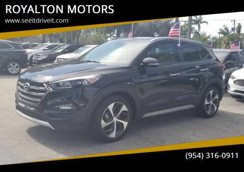 2017 Hyundai Tucson for sale at ROYALTON MOTORS in Plantation FL