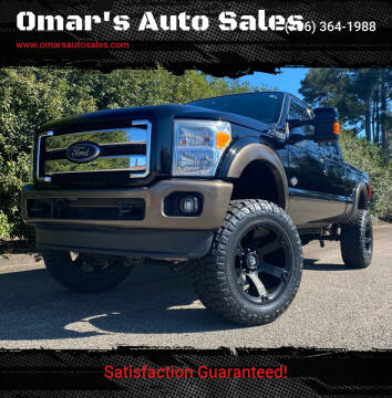 2016 Ford F-250 Super Duty for sale at Omar's Auto Sales in Martinez GA