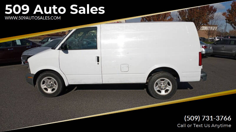2003 Chevrolet Astro Cargo for sale at 509 Auto Sales in Kennewick WA