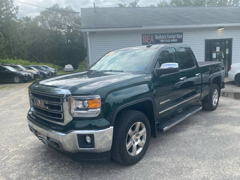 2015 GMC Sierra 1500 for sale at Skelton's Foreign Auto LLC in West Bath ME