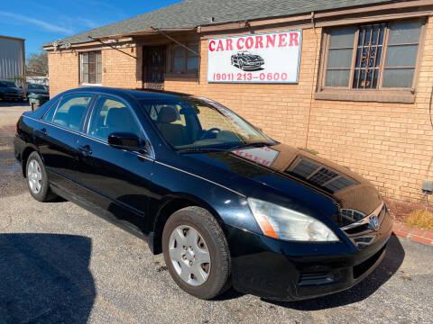 2007 Honda Accord for sale at Car Corner in Memphis TN