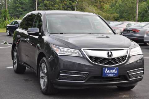 2015 Acura MDX for sale at Amati Auto Group in Hooksett NH