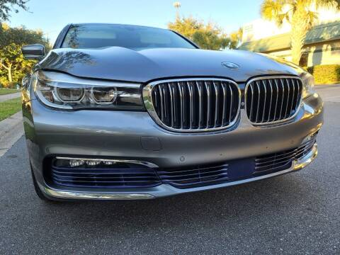 2016 BMW 7 Series for sale at Monaco Motor Group in Orlando FL