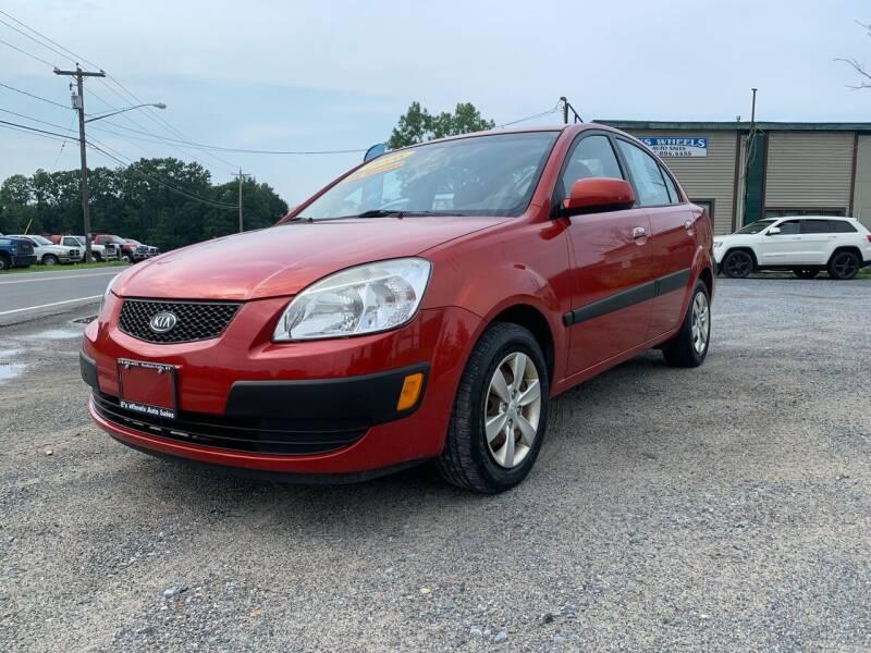 2008 Kia Rio for sale at E's Wheels Auto Sales in Hudson Falls NY