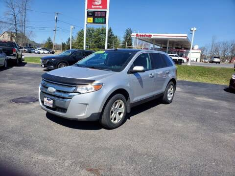 2013 Ford Edge for sale at Excellent Autos in Amsterdam NY