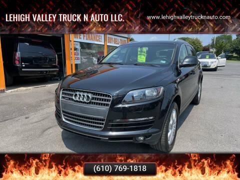 2008 Audi Q7 for sale at Lehigh Valley Truck n Auto LLC. in Schnecksville PA