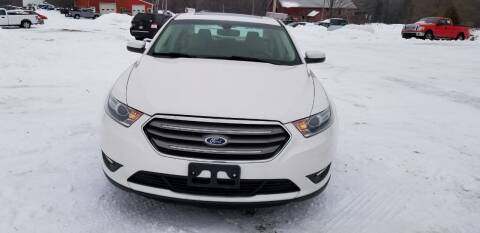 2014 Ford Taurus for sale at SKYLINE AUTO CENTRE in Wisconsin Rapids WI