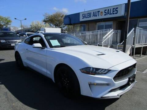 2019 Ford Mustang for sale at Salem Auto Sales in Sacramento CA