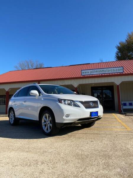 2012 Lexus RX 350 for sale at PITTMAN MOTOR CO in Lindale TX