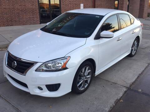 2013 Nissan Sentra for sale at STATEWIDE AUTOMOTIVE LLC in Englewood CO