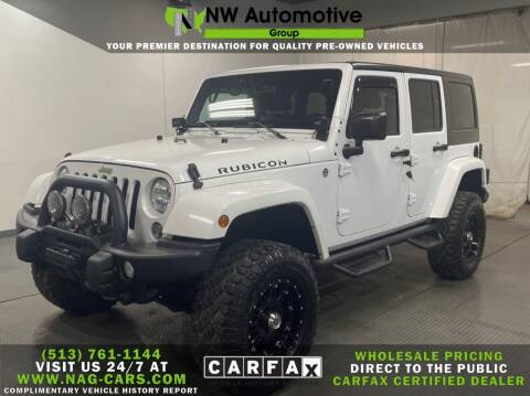 2014 Jeep Wrangler Unlimited for sale at NW Automotive Group in Cincinnati OH