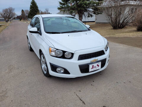 2016 Chevrolet Sonic for sale at J & S Auto Sales in Thompson ND