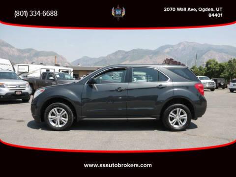 2012 Chevrolet Equinox for sale at S S Auto Brokers in Ogden UT