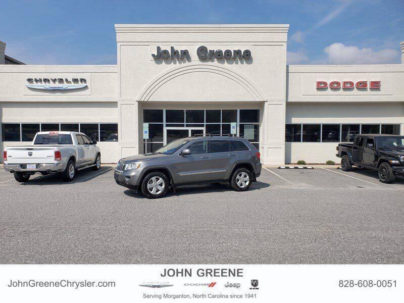 2012 Jeep Grand Cherokee for sale at John Greene Chrysler Dodge Jeep Ram in Morganton NC