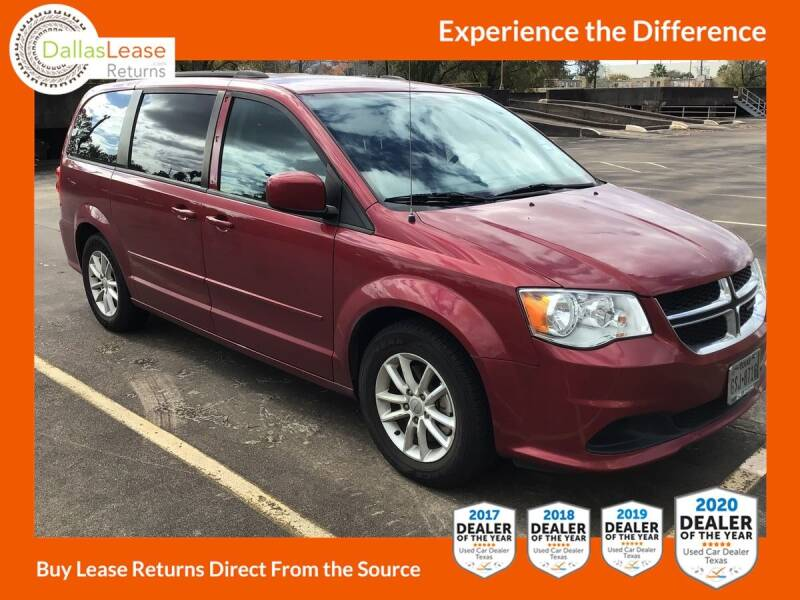 2016 Dodge Grand Caravan for sale at Dallas Auto Finance in Dallas TX