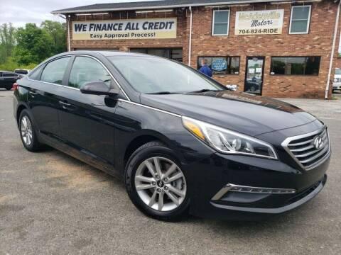 2015 Hyundai Sonata for sale at McAdenville Motors in Gastonia NC