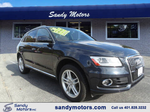 2015 Audi Q5 for sale at Sandy Motors Inc in Coventry RI