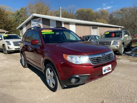 2009 Subaru Forester for sale at Victor's Auto Sales Inc. in Indianola IA