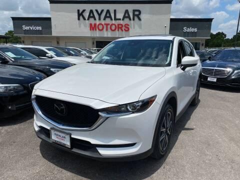 2018 Mazda CX-5 for sale at KAYALAR MOTORS in Houston TX