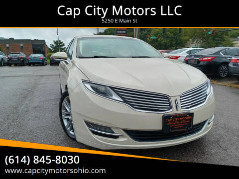 2015 Lincoln MKZ Hybrid for sale at Cap City Motors LLC in Columbus OH