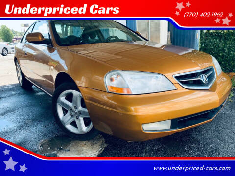2001 Acura CL for sale at Underpriced Cars in Marietta GA