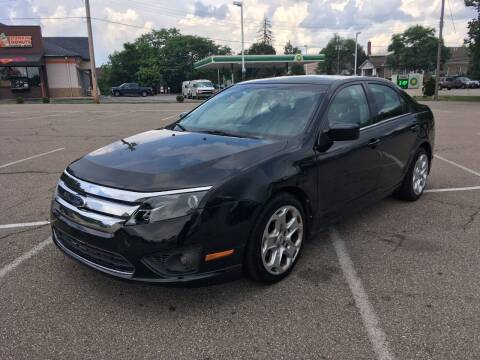 2011 Ford Fusion for sale at Borderline Auto Sales in Loveland OH
