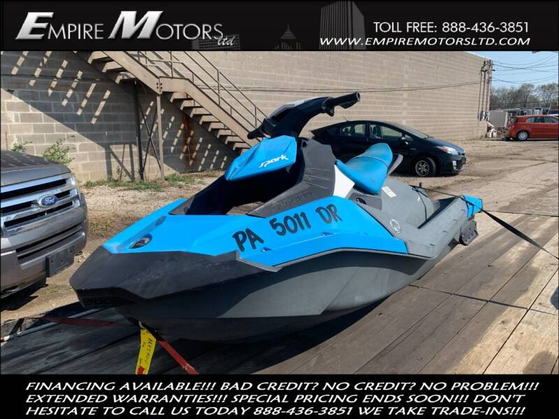2016 Sea-Doo Spark for sale at Empire Motors LTD in Cleveland OH