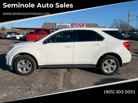 2010 Chevrolet Equinox for sale at Seminole Auto Sales in Seminole OK