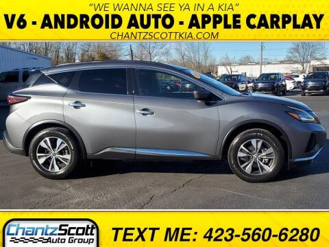 2020 Nissan Murano for sale at Chantz Scott Kia in Kingsport TN