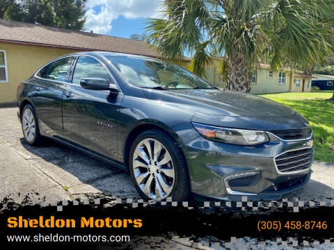 2017 Chevrolet Malibu for sale at Sheldon Motors in Tampa FL