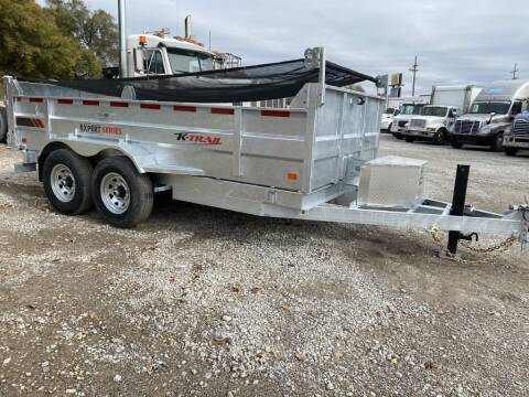 2021 K-TRAIL DUMP D8014-14 for sale at HATCHER MOBILE SERVICES & SALES in Omaha NE