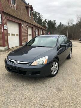 2006 Honda Accord for sale at Hornes Auto Sales LLC in Epping NH