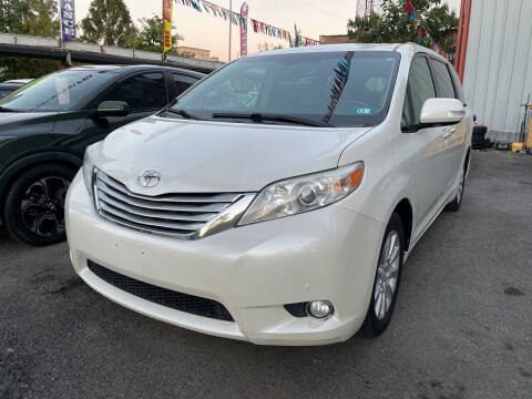 2013 Toyota Sienna for sale at Gallery Auto Sales in Bronx NY