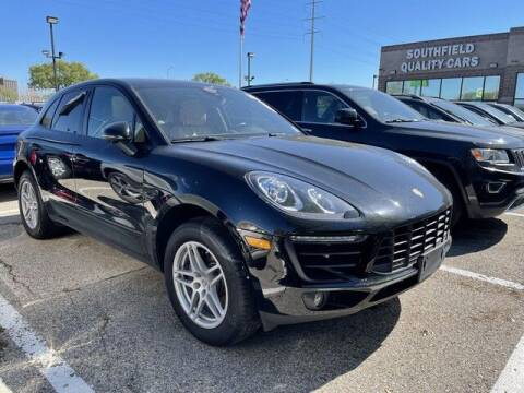 2017 Porsche Macan for sale at SOUTHFIELD QUALITY CARS in Detroit MI