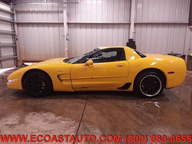 2003 Chevrolet Corvette for sale at East Coast Auto Source Inc. in Bedford VA