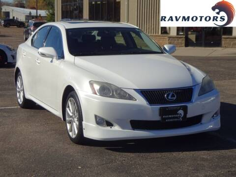 2009 Lexus IS 250 for sale at RAVMOTORS 2 in Crystal MN
