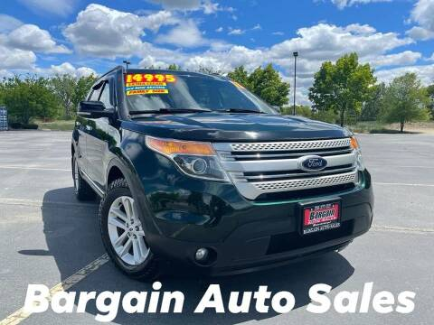 2013 Ford Explorer for sale at Bargain Auto Sales LLC in Garden City ID