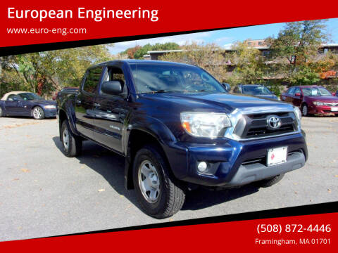 2013 Toyota Tacoma for sale at European Engineering in Framingham MA
