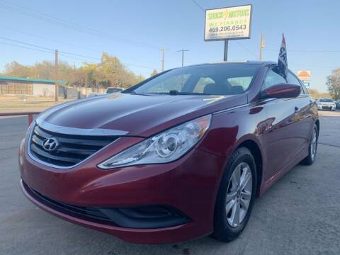 2014 Hyundai Sonata for sale at Shock Motors in Garland TX
