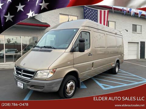 2005 Dodge Sprinter Cargo for sale at ELDER AUTO SALES LLC in Coeur D'Alene ID