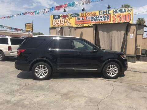 2016 Ford Explorer for sale at DEL CORONADO MOTORS in Phoenix AZ