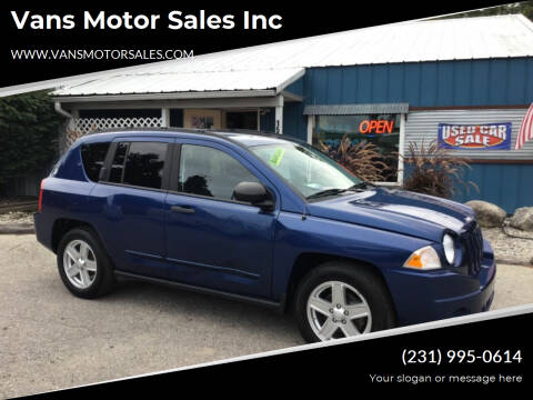 2009 Jeep Compass for sale at Vans Motor Sales Inc in Traverse City MI