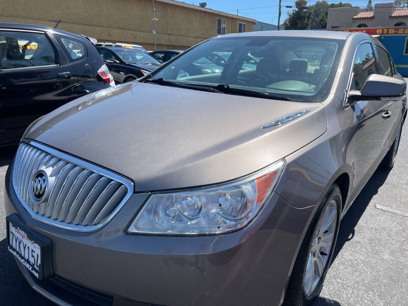 2010 Buick LaCrosse for sale at CARZ in San Diego CA