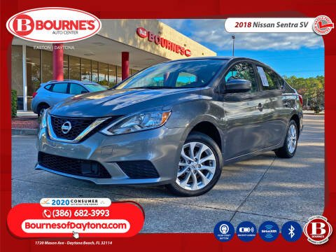 2018 Nissan Sentra for sale at Bourne's Auto Center in Daytona Beach FL
