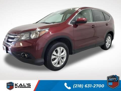 2012 Honda CR-V for sale at Kal's Kars - SUVS in Wadena MN