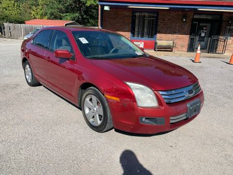 2007 Ford Fusion for sale at Super Wheels-N-Deals in Memphis TN