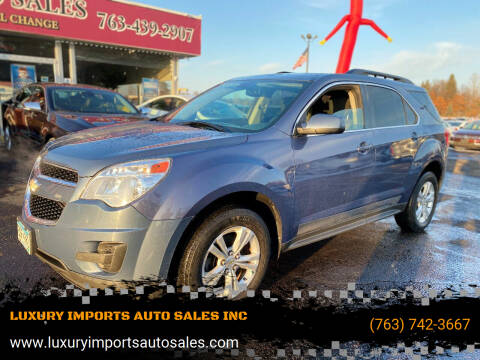 2011 Chevrolet Equinox for sale at LUXURY IMPORTS AUTO SALES INC in North Branch MN