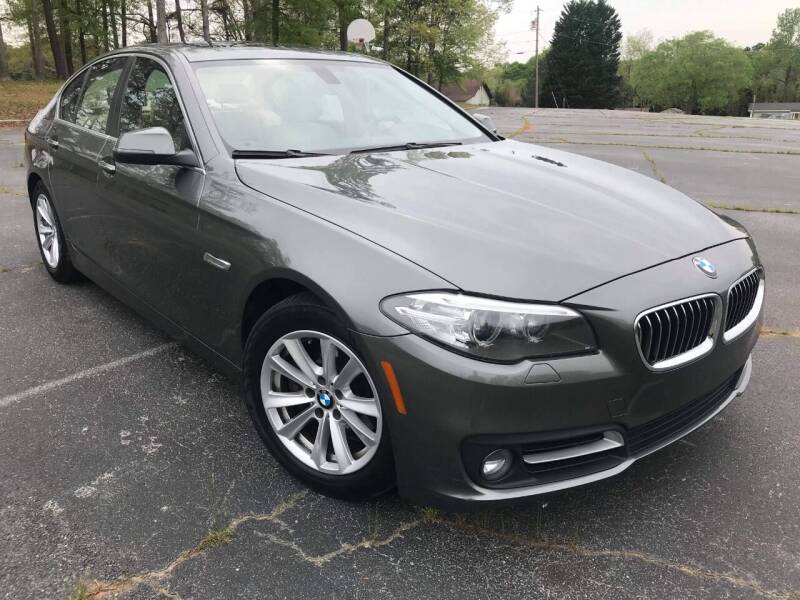 2015 BMW 5 Series for sale at Happy Days Auto Sales in Piedmont SC